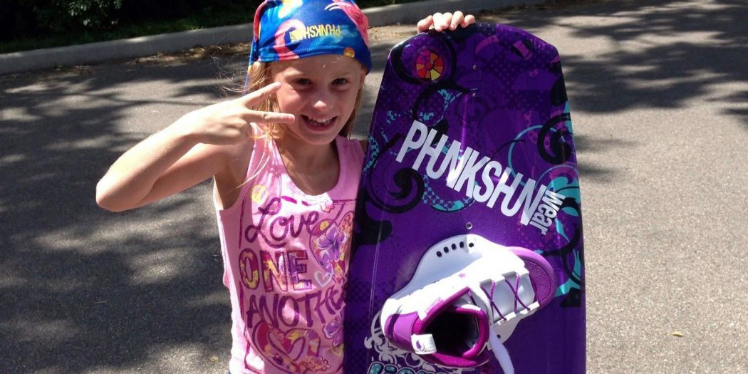 Kaitlyn Adams 11 Year Old Pro Wakeboarder and Snowboarder