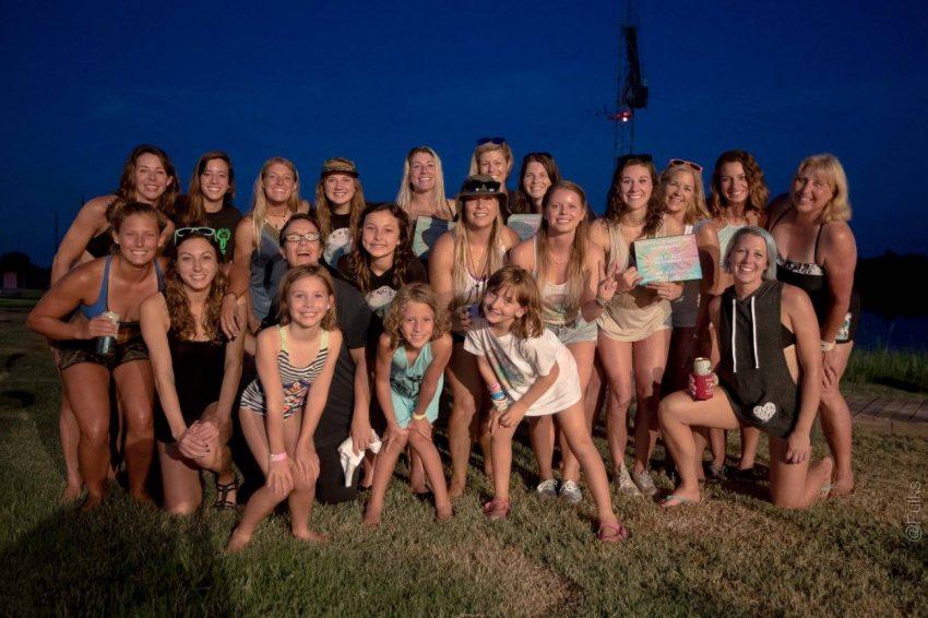 Girls Shredding Hard at BabeFest