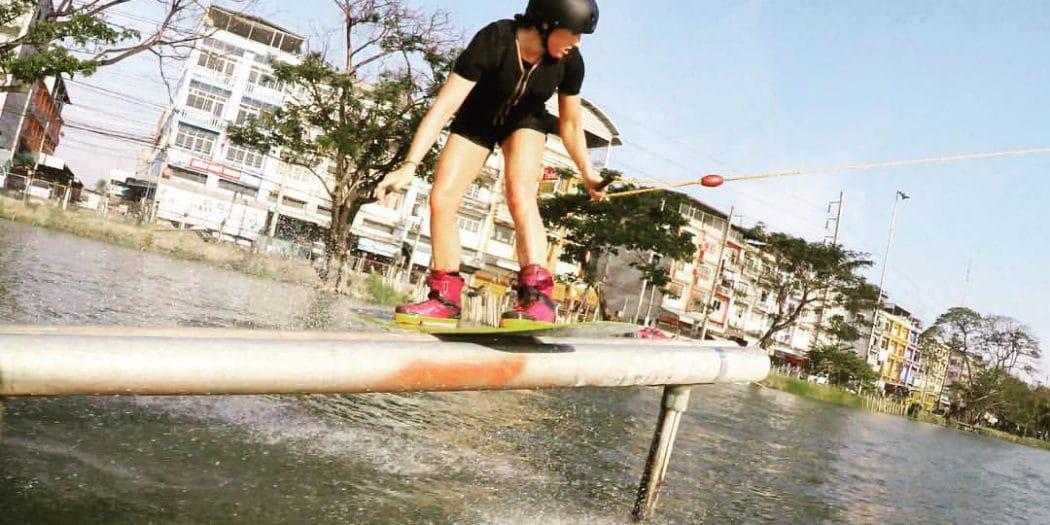 Karolina Winkowska Having Fun at Zanook in Bangkok