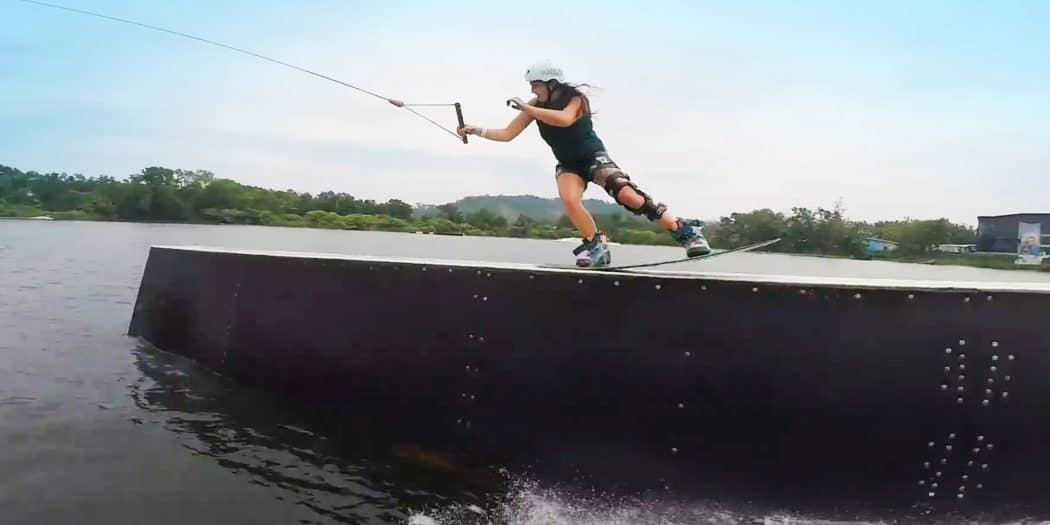 Yasemin 'Yaz' Tanriverdi at Thai Wake Park