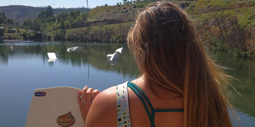 Wakeboarding in Portugal: The Quietness of the Blue Lake